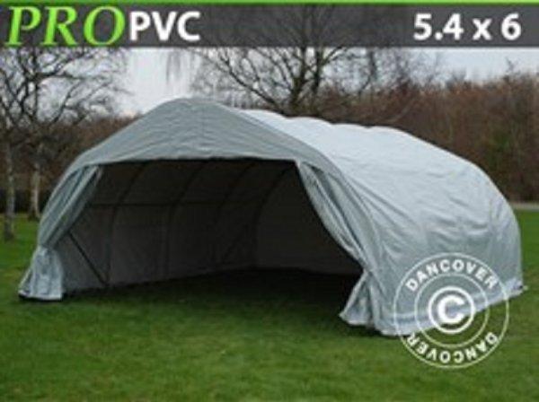 Dubbelt Garagetält 5,4 x 6 x 2,95 m PVC Nu! 9780:-