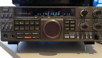 Kenwood R-5000 kommunkationsmottagare HF